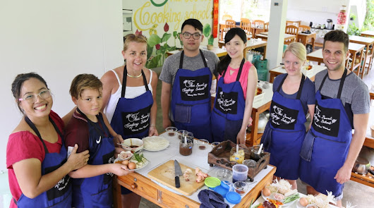 Full Day Thai Cooking Class with The Family in Our Home Style Kitchen.