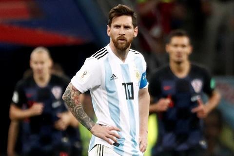 Có vẻ như Messi hơi vô duyên với đội tuyển quốc gia Argentina.