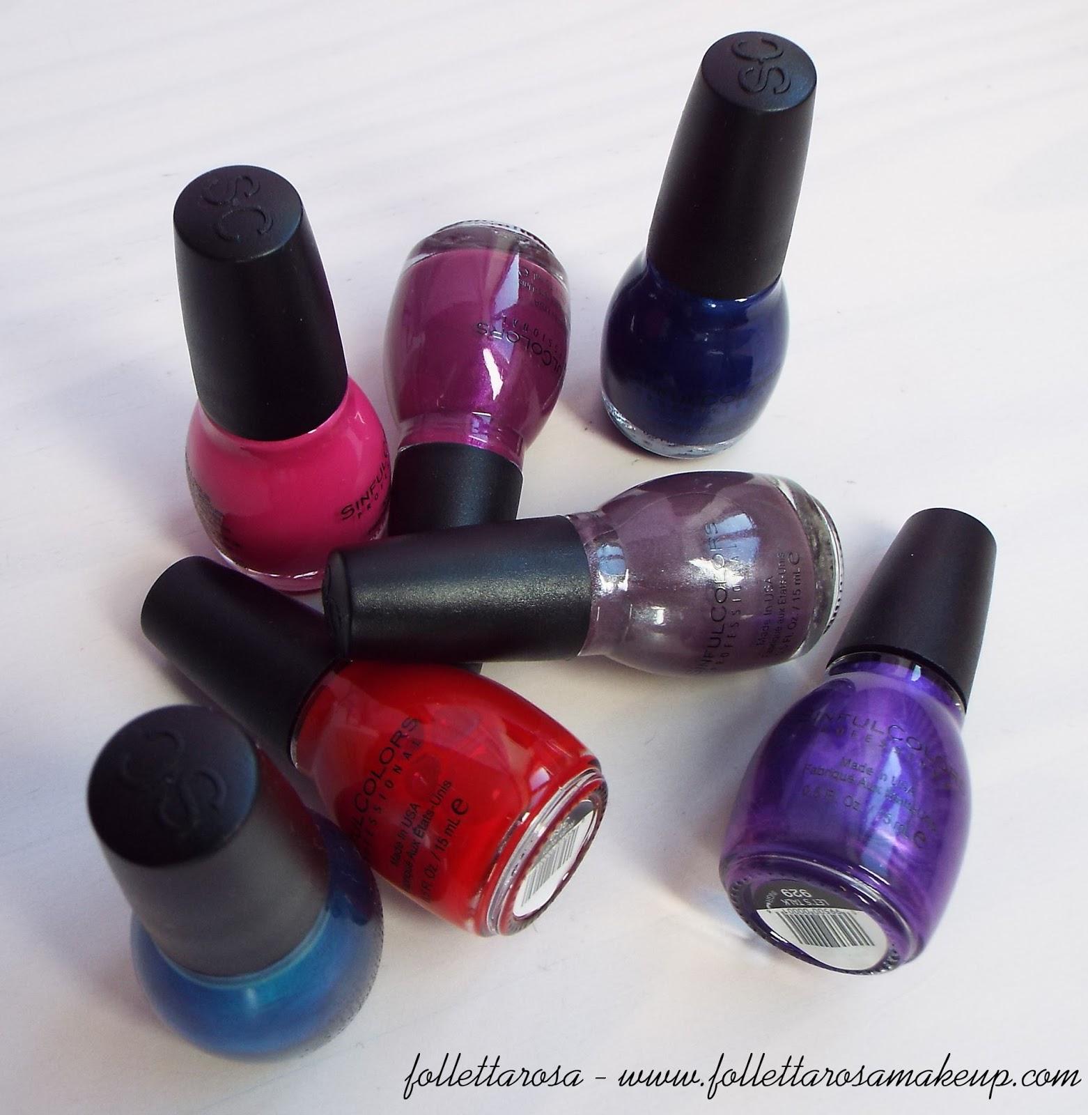 sinful colors smalti