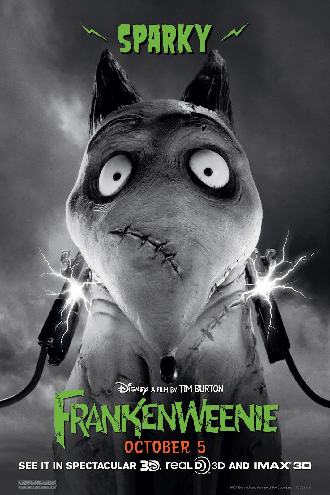Movie Review Frankenweenie 2012 Colourlessopinions Com