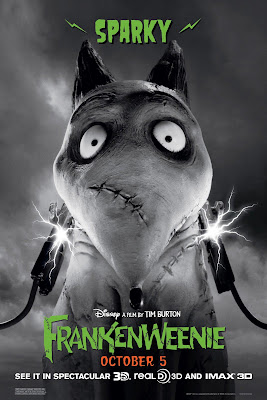 Frankenweenie 2012 movie poster sparky