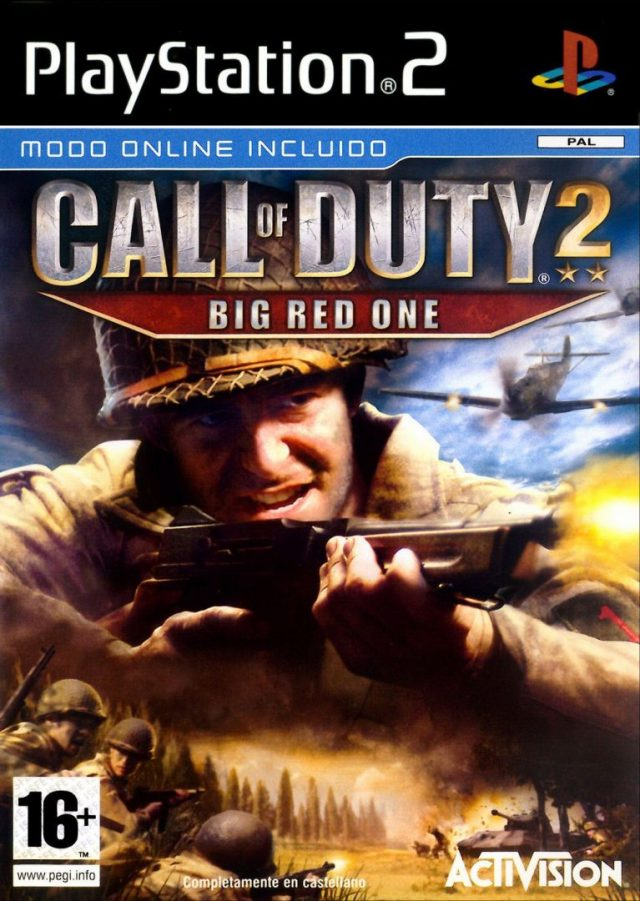 Call of Duty 2 Big Red One PAL PS2