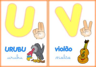 alfabeto ilustrado em sinais de libras