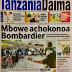 HAYA HAPA MAGAZETI YA LEO JUMATATU FEBRUARI 5,2018 - NDANI NA NJE YA TANZANIA