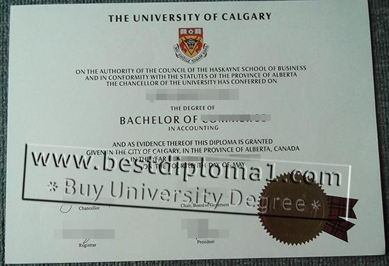 University of Calgary fake degree