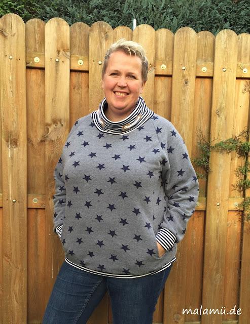 Raglansweater in Plus Size von ki-badoo
