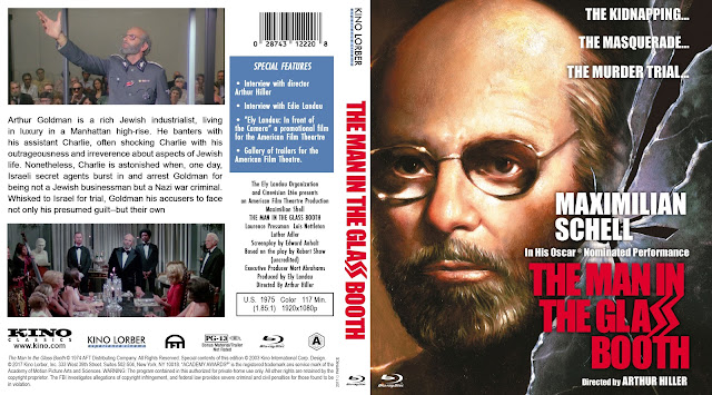 The Man in the Glass Booth Bluray Cover