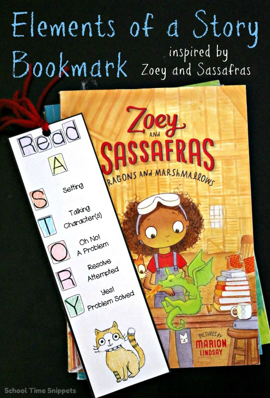 zoey and sassafrass review bookmark