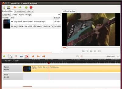 OpenShot in Ubuntu