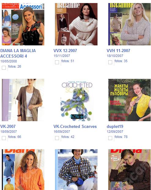 20 Revistas Tejer Picasa