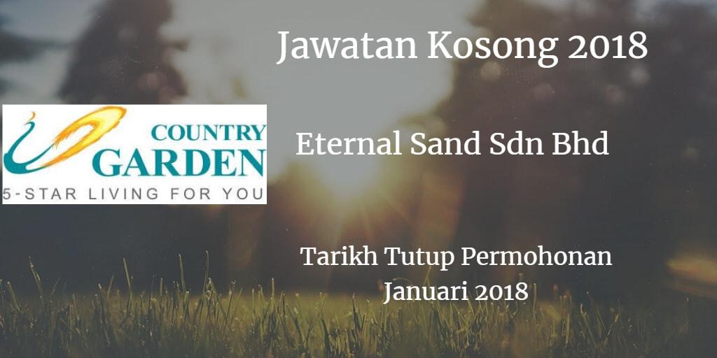 Jawatan Kosong Eternal Sand Sdn Bhd  Januari 2018