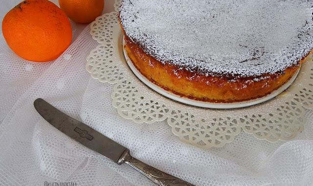Torta di arance e mandorle di Claudia Roden