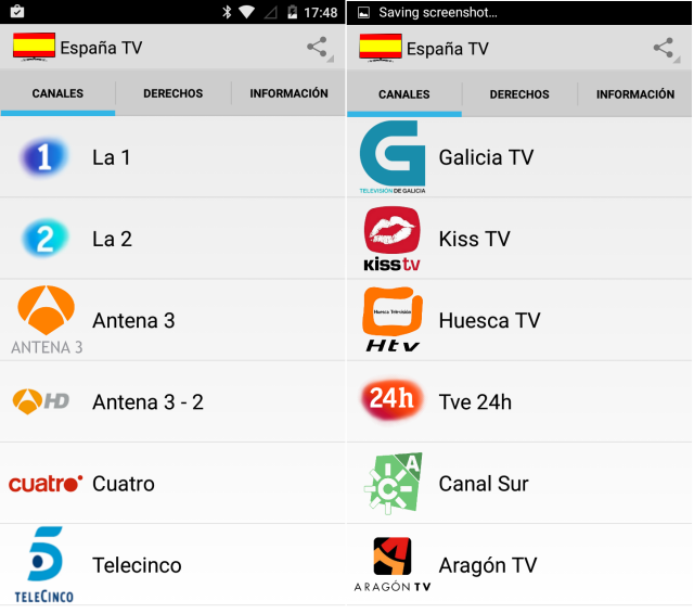 watch Spanish television on Android device With Spain TV app