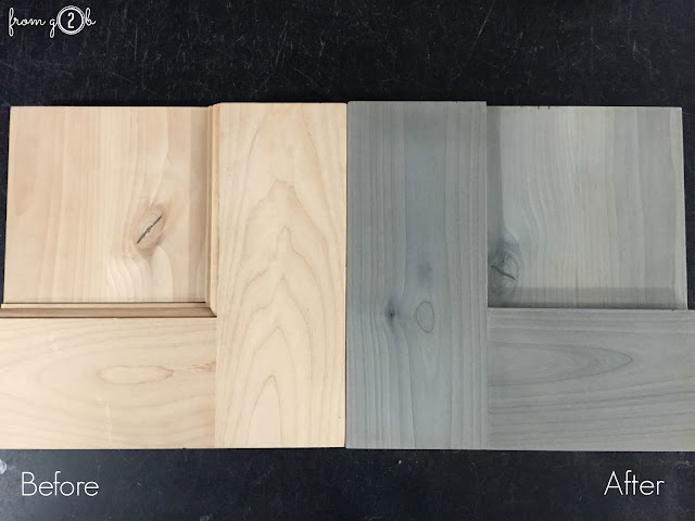 Perfect DIY Driftwood Gray using #WeatherwoodStains on #fg2b