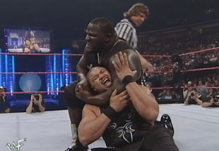 WWE / WWF - Unforgiven 1999 - Mark Henry defended the European title against D'Lo Brown