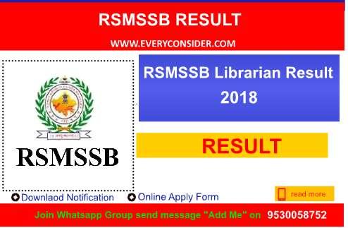 Librarian Result 2018