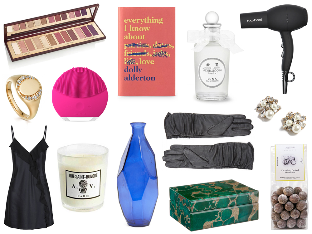 Christmas gift guide for her featuring Astley Clarke, Dolly Alderton, NuMe, John Lewis, Foreo, Penhaligon's, J. Crew and Charlotte Tilbury - UK style & beauty blog.jpg