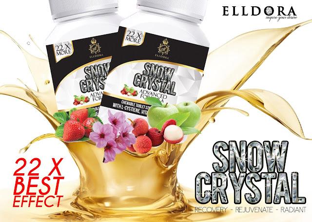 Snow Crystal Elldora Pilihan Tepat Untuk Kecantikan Wajah Semulajadi