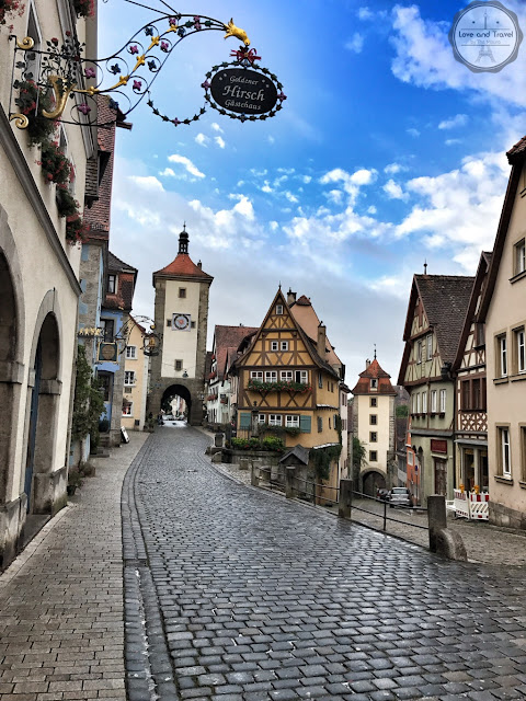 Rothenburg ob der Tauber Alemanha Rota Romântica