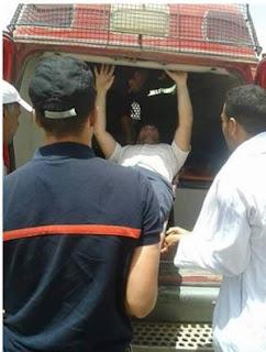اعتداء ثلاثة تلاميذ على أستاذ ضبطهم يغشون في امتحان الباكالوريا أمس الخميس.