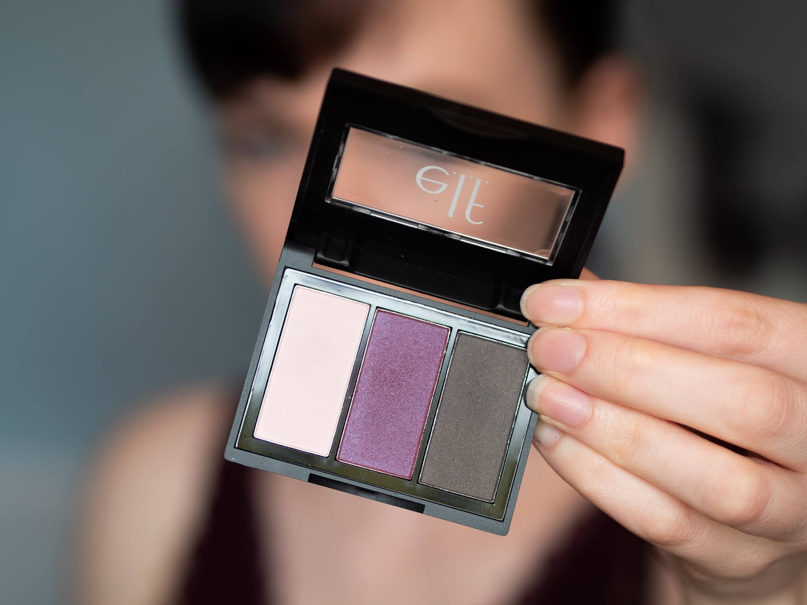 "e.l.f ""Berry Please"" eyeshadow review"
