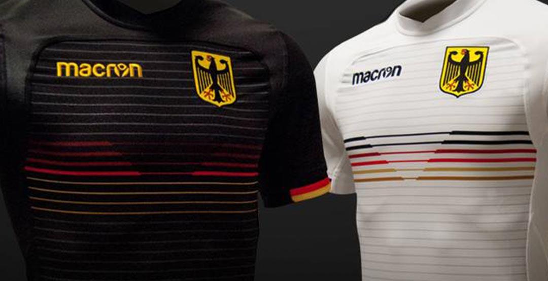 323e33a22 Better Than Adidas  Germany 2018 World Cup Kits  Awesome Macron ...