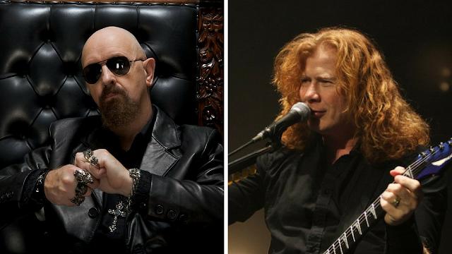 Megadeth agradece pertenecer gira Judas Priest épica foto