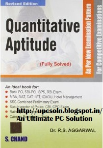 Aptitude edition pdf quantitative 4th arun sharma cat for