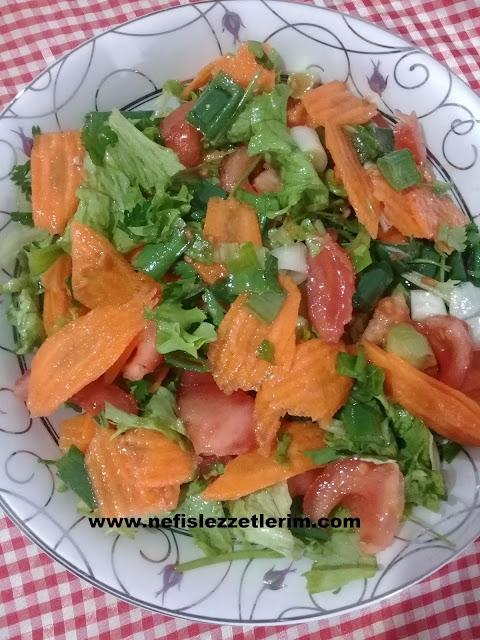 salata nasıl yapılır