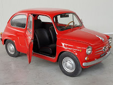 FIAT 600 WITH THE SILVER STRINGS INSIDE