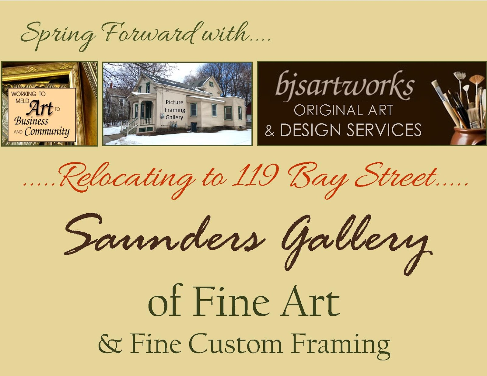 Saunders Gallery of Fine Art at bjsartworks ~ Fine Custom Framing