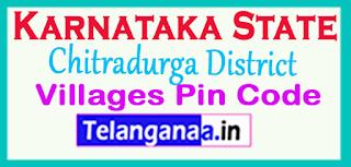 Chitradurga District Pin Codes in Karnataka State