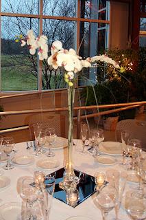 Eiffel Tower Vase Centerpieces