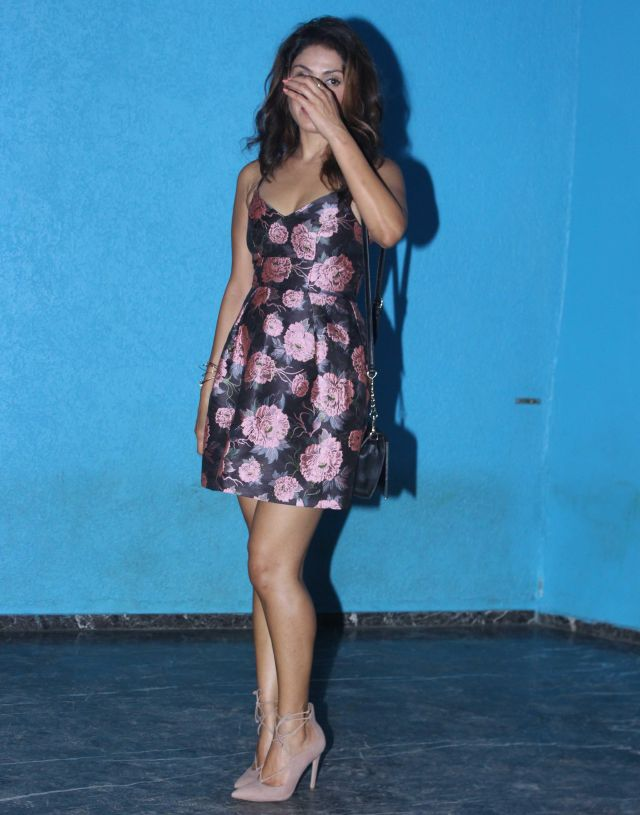Manjari Fadnis At Arbaaz Khan Birthday Celebrations Mumbai