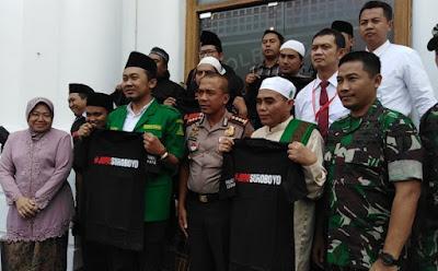 Surabaya: FPI dan ANSOR Saling Maaf Memaafkan