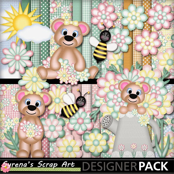 digital scrapbook kit