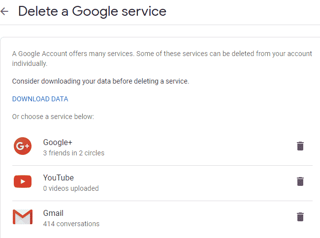 Delete Your Google Plus Account