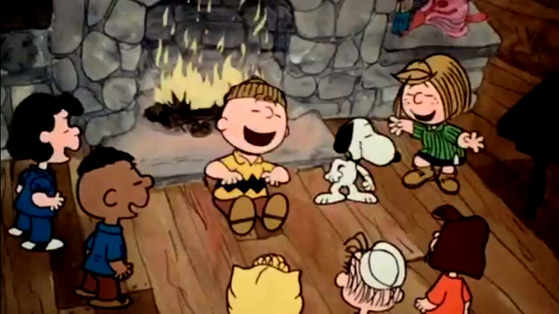 Escapa Charlie Brown Escena 14