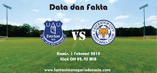 Data dan Fakta Fantasy Premier League Everton vs Leicester City Fantasi Manager Indonesia