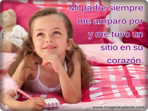 Imagenes De Papas Con Sus Hijas Con Frases Imagui