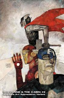 Especial: Vingadores ganham capas que homenageiam obras de arte.| HQ 19