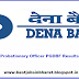 Dena Bank PO Results 2017 PGDBF Probationary Officer Merit List