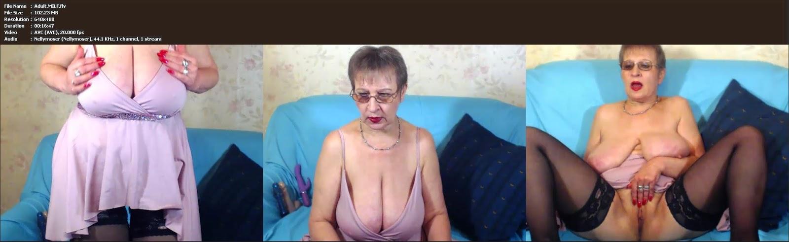 Elderly Mature Boobs Etc 75