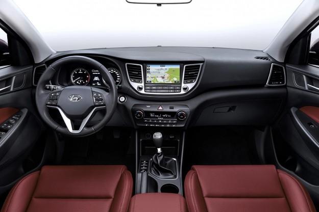 Caratteristiche e novità interni Hyundai Tucson 2015
