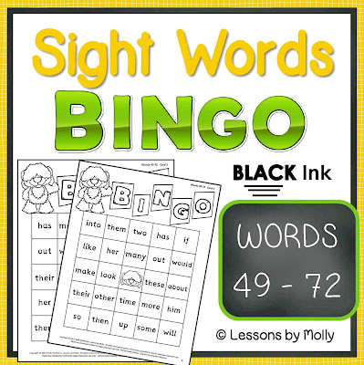 https://www.teacherspayteachers.com/Product/sight-words-BINGO-words-49-through-72-BLACK-ink-421324