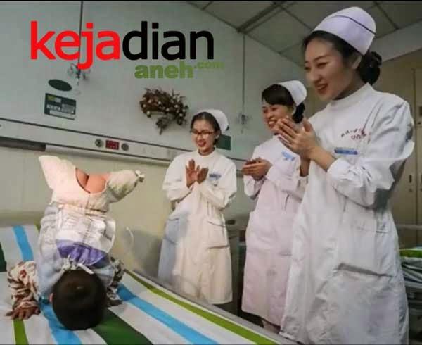 Heboh Bayi Joget Lucu Tanpa Kaki Di Tiongkok