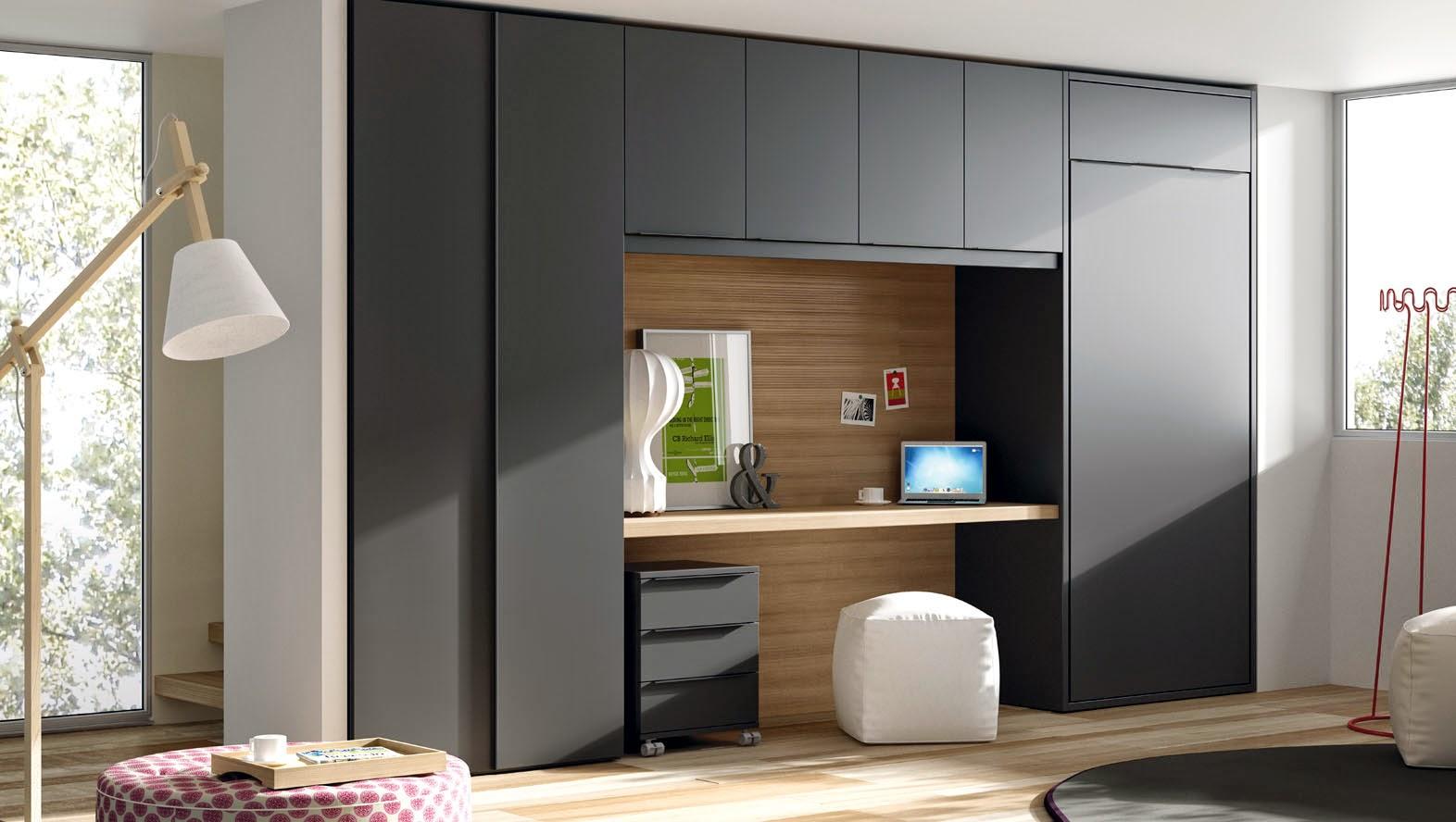 Dormitorios con cama abatible vertical - Mecanismo para camas abatibles ...