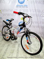 20 Inch Family Inferno 6 Speed Junior Mountain Bike