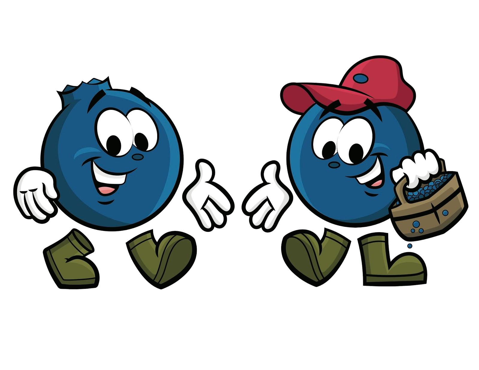 Cartoon Blueberries | www.pixshark.com - Images Galleries ...