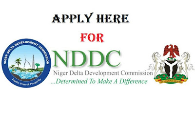 2018 NDDC Recruitment - Application Portal - www.nddc.gov.ng